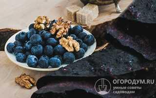 Как приготовить чернику с сахаром зимой без варки, пошагово с фото