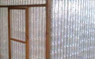 Бутылки из пластика для постройки теплицы – делаем своими руками