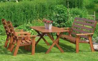 Садовая мебель: как выбрать правильно?