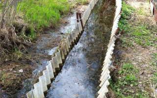 Водоотводные канавы: правила создания