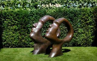 Садовая скульптура в дизайне участка + фотографии