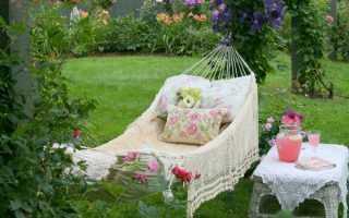Уютный уголок в саду для отдыха – идеи, описание + фото